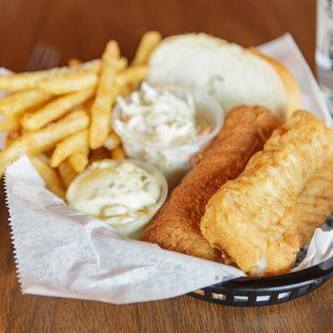 2 Piece Cod Fish Dinner