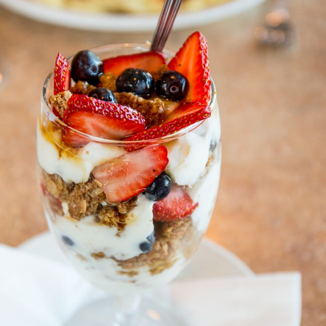 Breakfast Sundae at Sofra Family Bistro