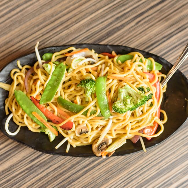Veggie Lo Mein at One Bowl Asian Cuisine