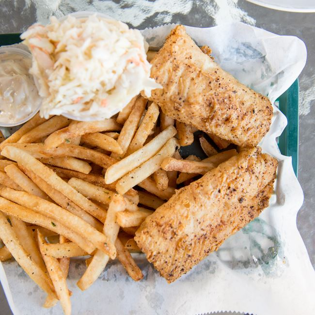 Friday Fish Fry at Waterfront Mary's Bar & Grill