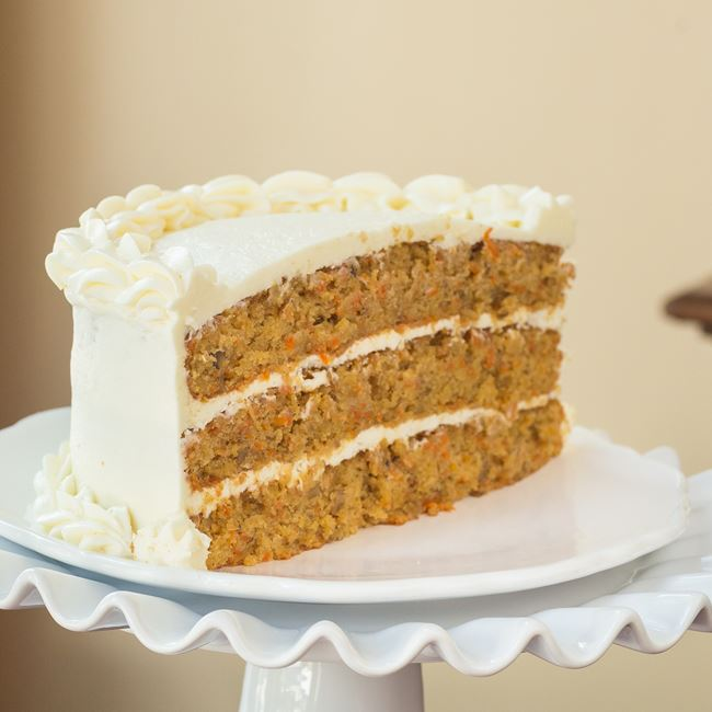 Carrot Cake at Settlers Inn