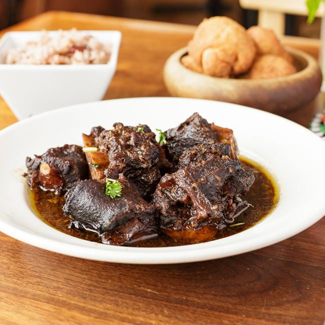 Jamaican Oxtail Stew at Irie Zulu