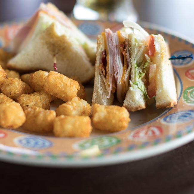 Half Sandwich Combo at Ground Round