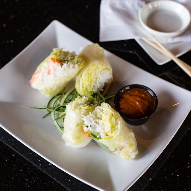 Summer Rolls at Oriental Bistro & Grill