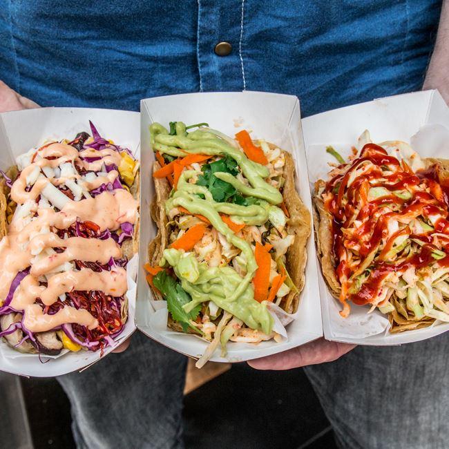 Korean Tacos at Yokohama