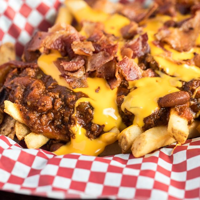 Fully Loaded Fries at Carytown Burgers & Fries