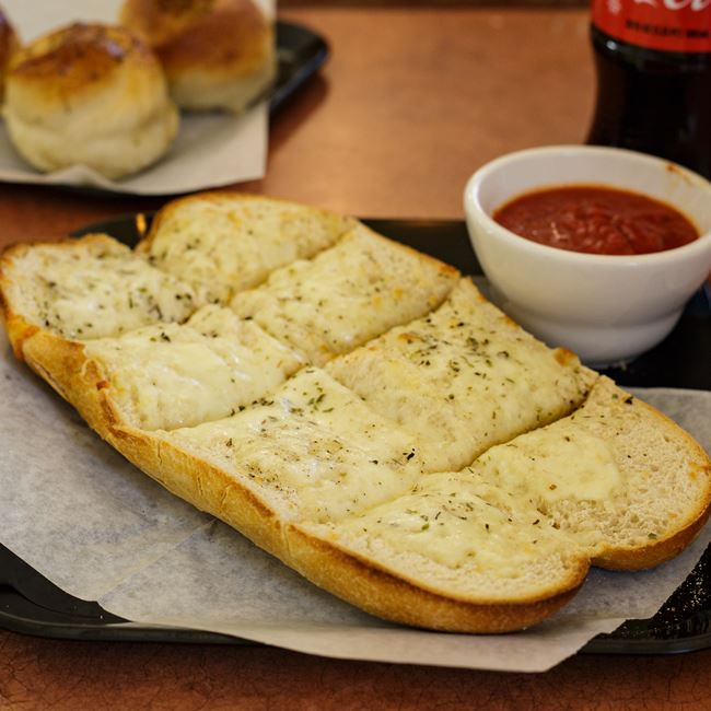Garlic Bread with Cheese at Pizza Di Roma