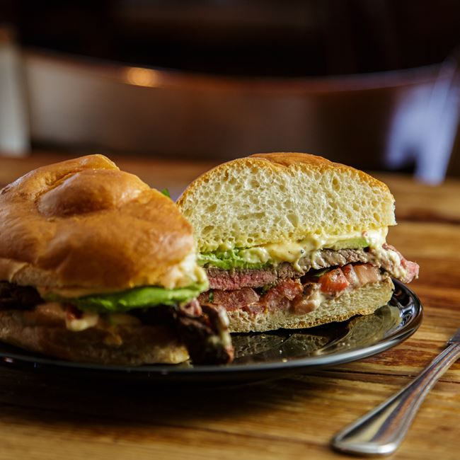 West of the Andes Sandwich at Weary Traveler Free House