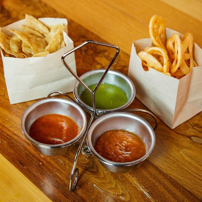 Tres Salsas at Canteen