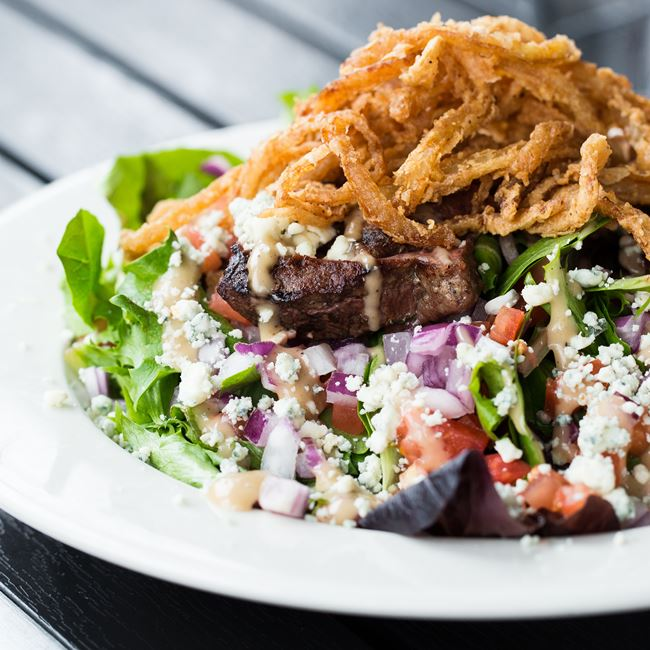 Steakhouse Salad at Kreggers Tap and Table