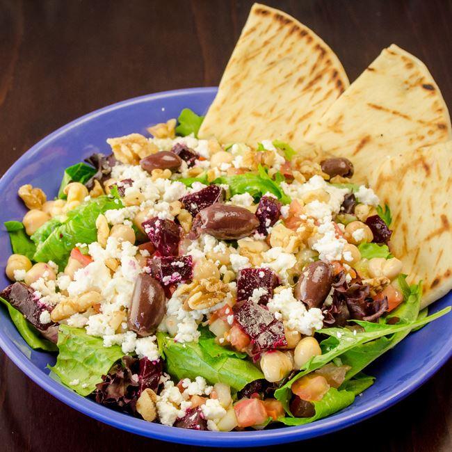 Mediterranean Salad at Freska Mediterranean Grill