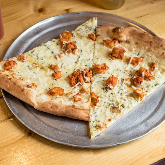 Buffalo Chicken Pizza at Ian's Pizza