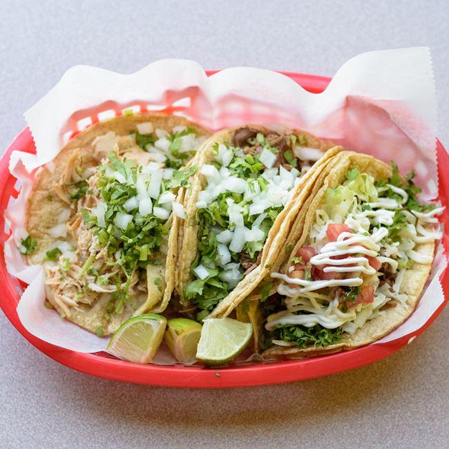 Tacos Supreme at Taco King