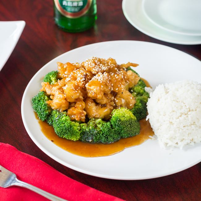 Sesame Chicken at New Fortune Asian Cuisine