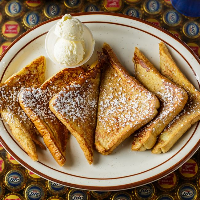 French Toast at Vintage Spirits & Grill