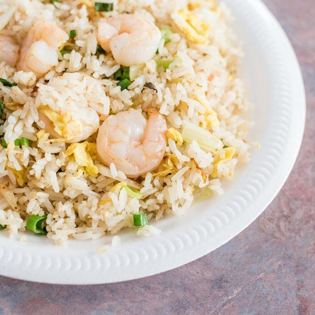 Shrimp Fried Rice at Happy Wok