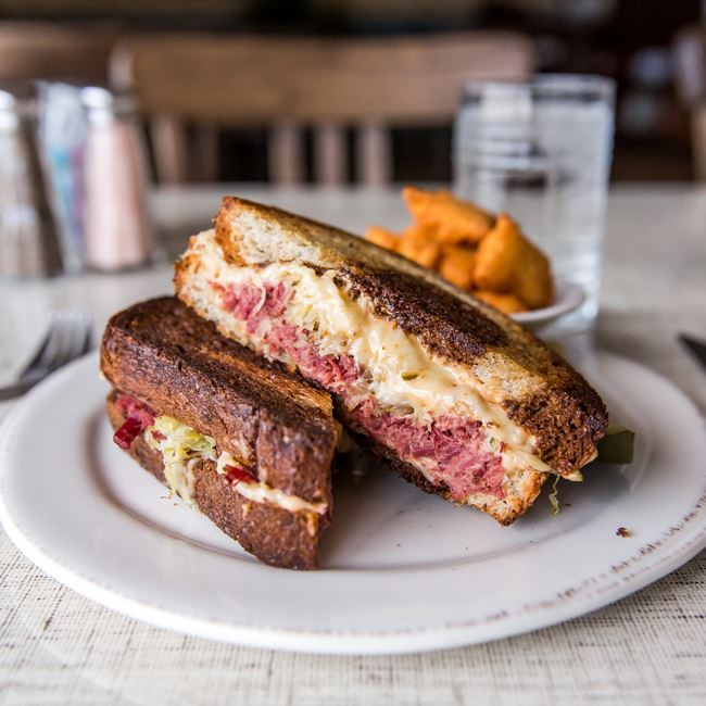 The Reuben at Morning Collective