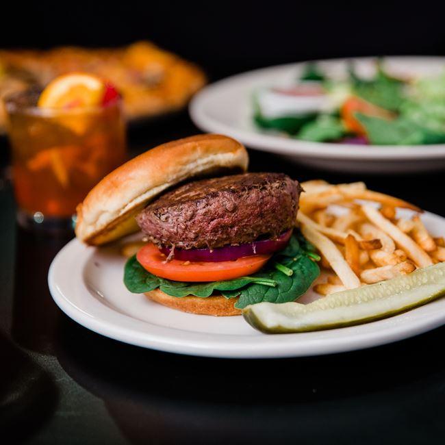 Union Burger at Union Supper Pub