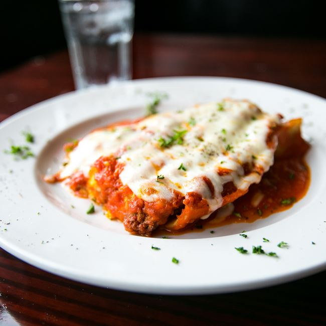 Meat Lasagna at Arianna's Italian Grill and Pizzeria