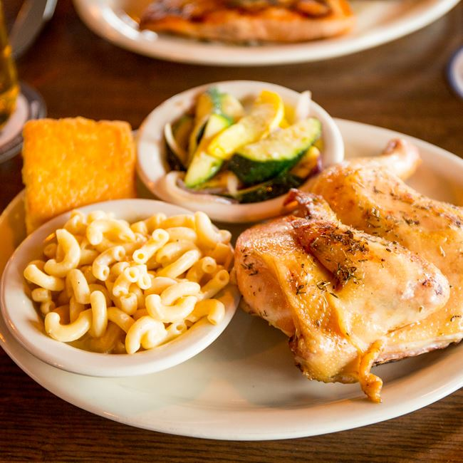Smokehouse Chicken at The Thirsty Goat