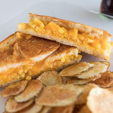 Mac and Cheese Sandwich