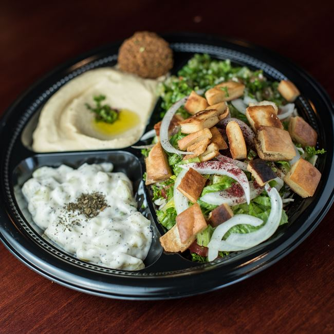 Go Green at Shawarma House