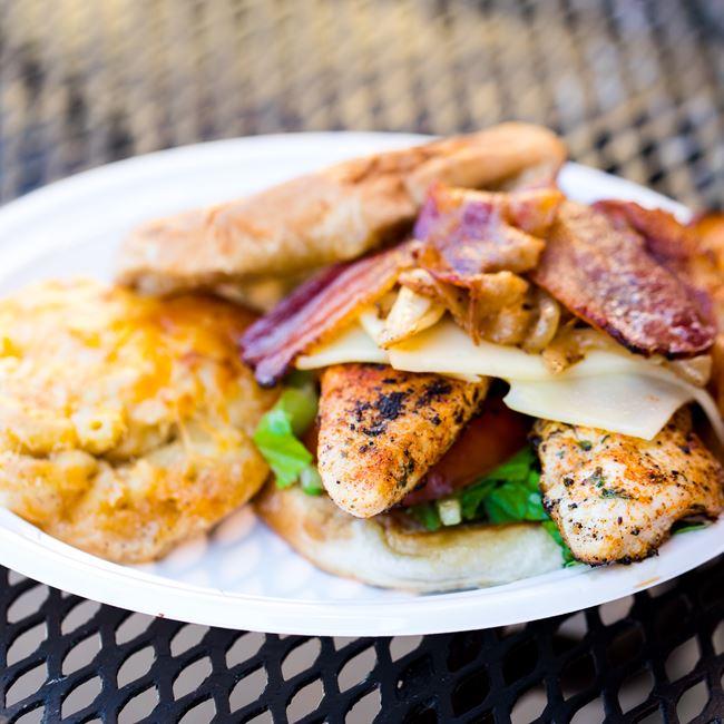 Blackened Chicken Sandwich at Big Herm's Kitchen