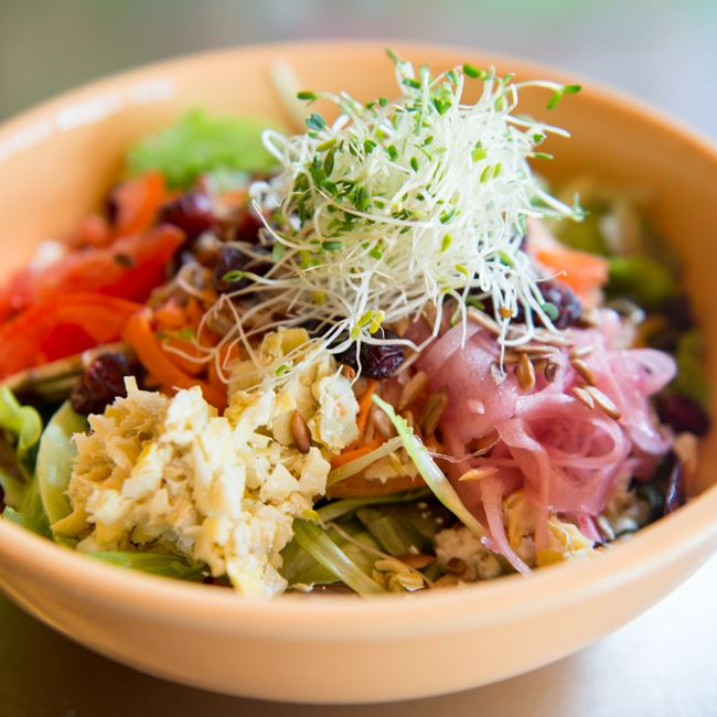 "GRC Salad at Get ""Real"" Cafe"