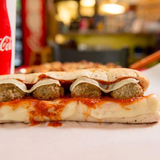 Italian Meatball Sub at Fatzo's Subs & Pizza