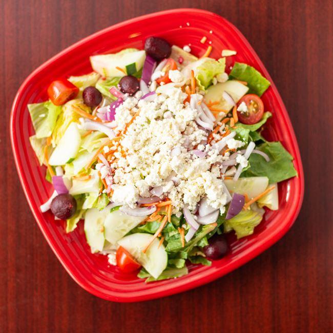 Greek Salad at New York Pizza Depot