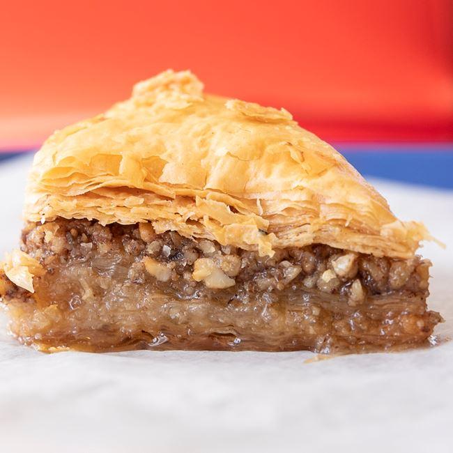 Honey Drenched Baklava Pastry at Niko's Gyros