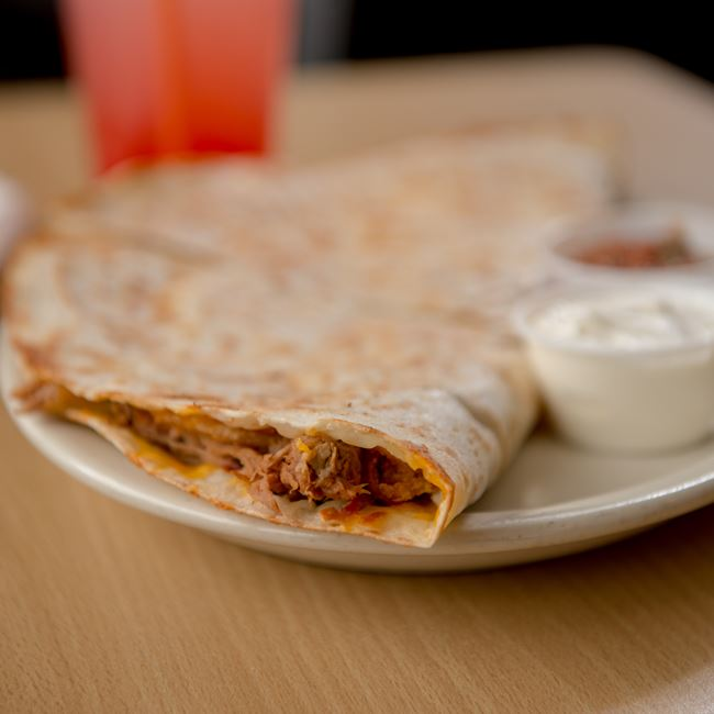 BBQ Quesadilla at Casey's BBQ & Smokehouse