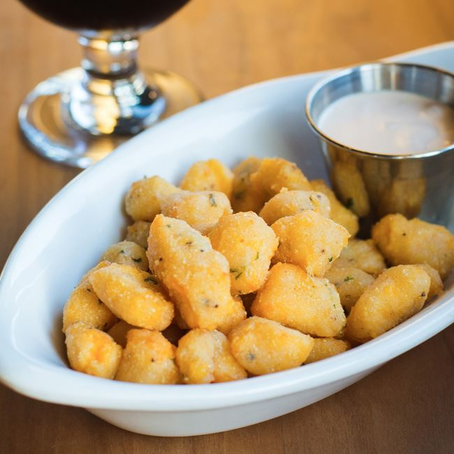 Rockhound Cheese Curds at Rockhound Brewing Company
