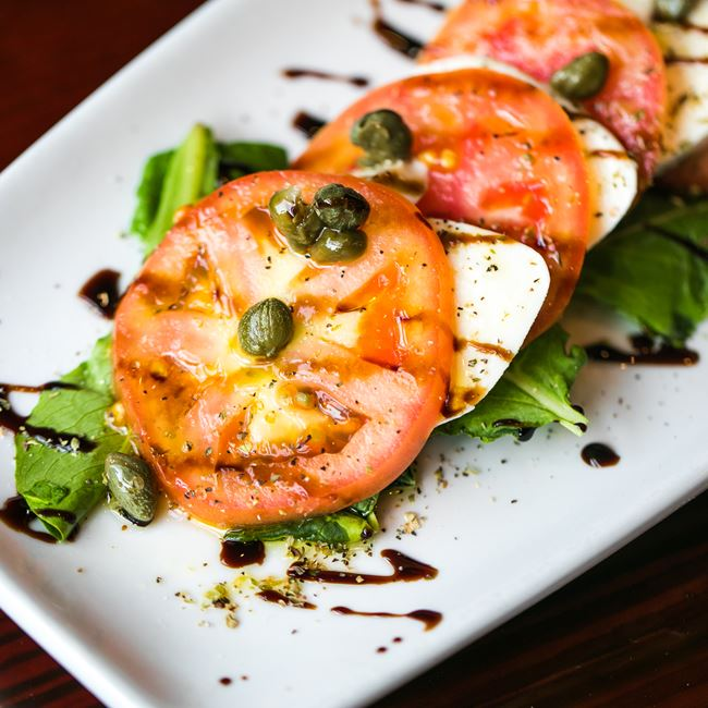 Mozzarella Caprese at Arianna's Italian Grill and Pizzeria