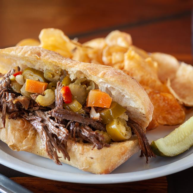 Show Italian Beef at Sweet Home Wisconsin