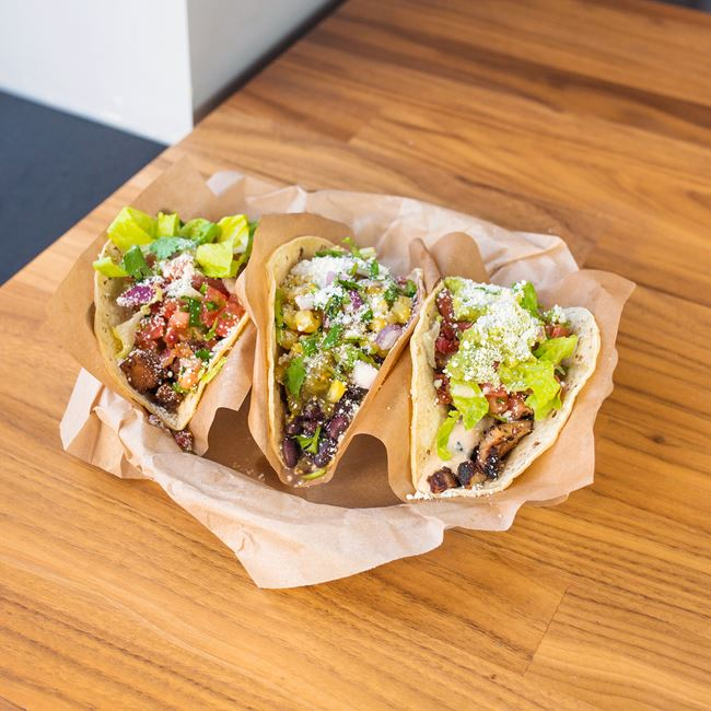 Knockout Tacos at QDOBA Mexican Eats