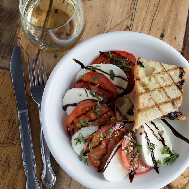 Caprese Salad at Wild Tomato Wood-fired Pizza and Grille
