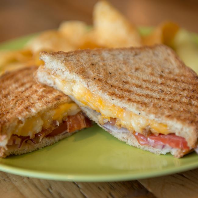 Ultimate Grilled Cheese Sandwich at Door County Coffee & Tea Co.