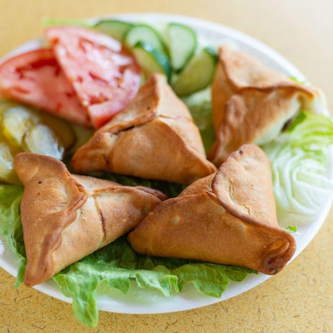 Spinach Pies at Pita Kabob Grill