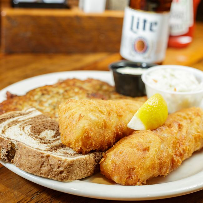 Northwoods Award-Winning Fish Fry at Tula's Café