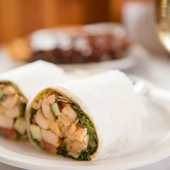 Tuscan Chicken Wrap at Gibraltar Grill