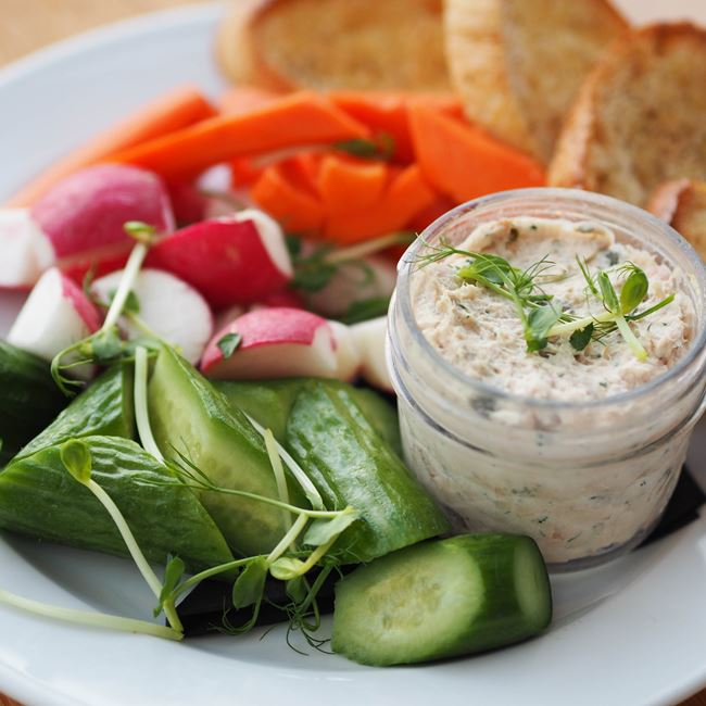 Plymouth Springs Rainbow Trout Dip at Graze