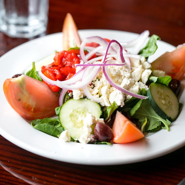 Mediterranean Salad at Arianna's Italian Grill and Pizzeria