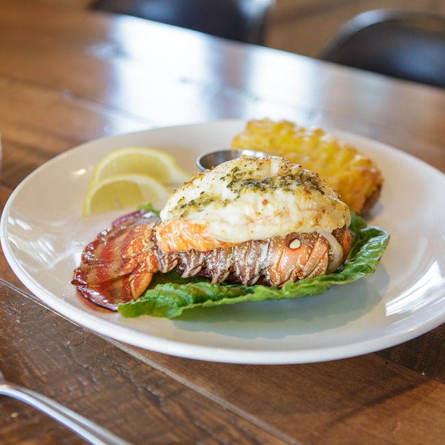 Caribbean 8 oz Warm Water Lobster Tails at Bitters + Bull