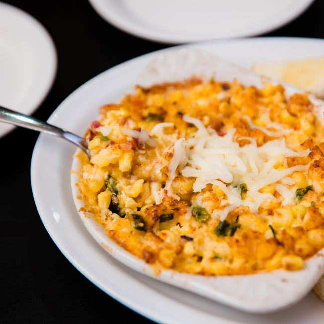 Korean Corn Dip at Union Supper Pub
