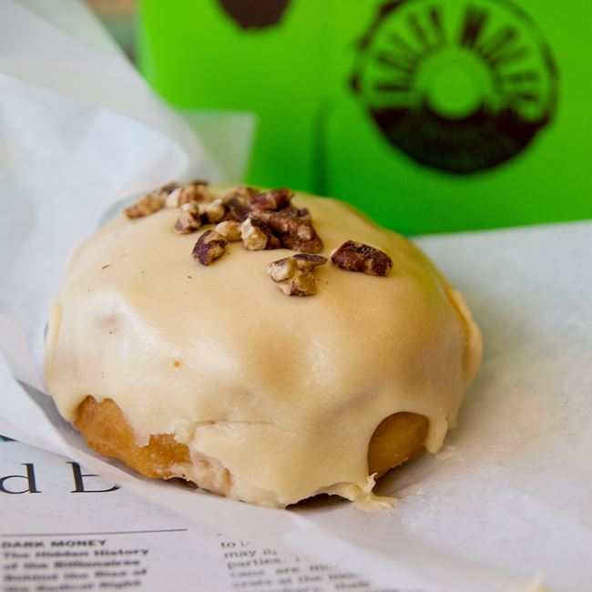 Maple Pecan Doughnut