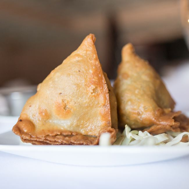 Samosa at Bollywood Grill