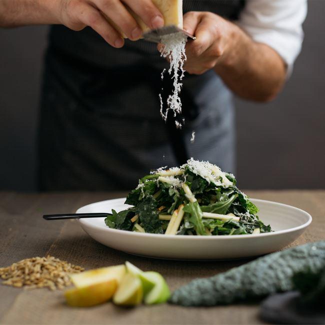 Kale & Apple Salad at Corinne