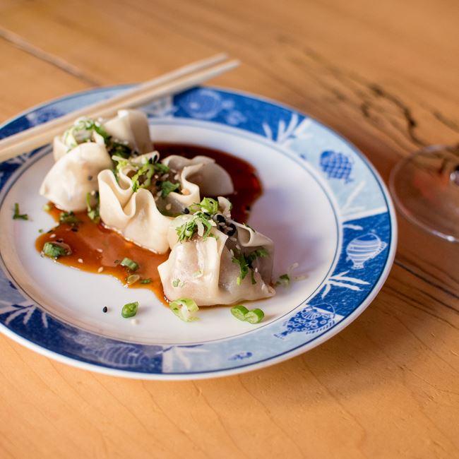 Shumai Dumplings at Natt Spil