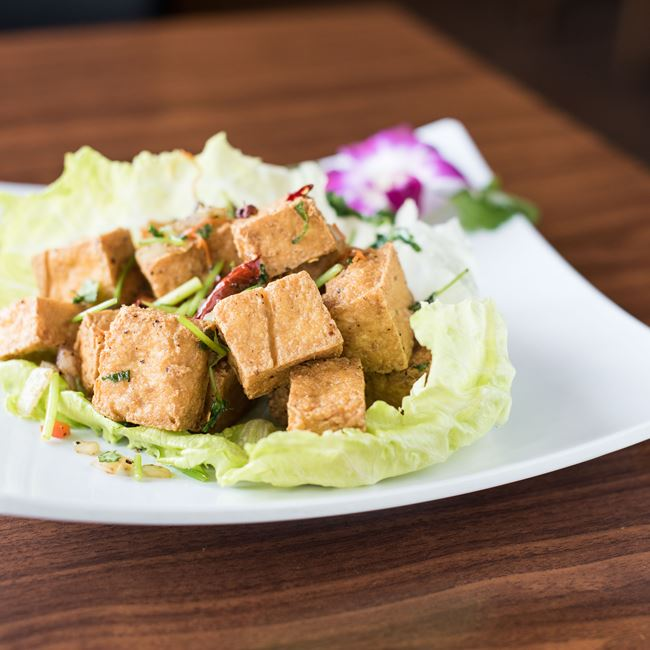 Salt & Pepper Tofu at Asian Fusion